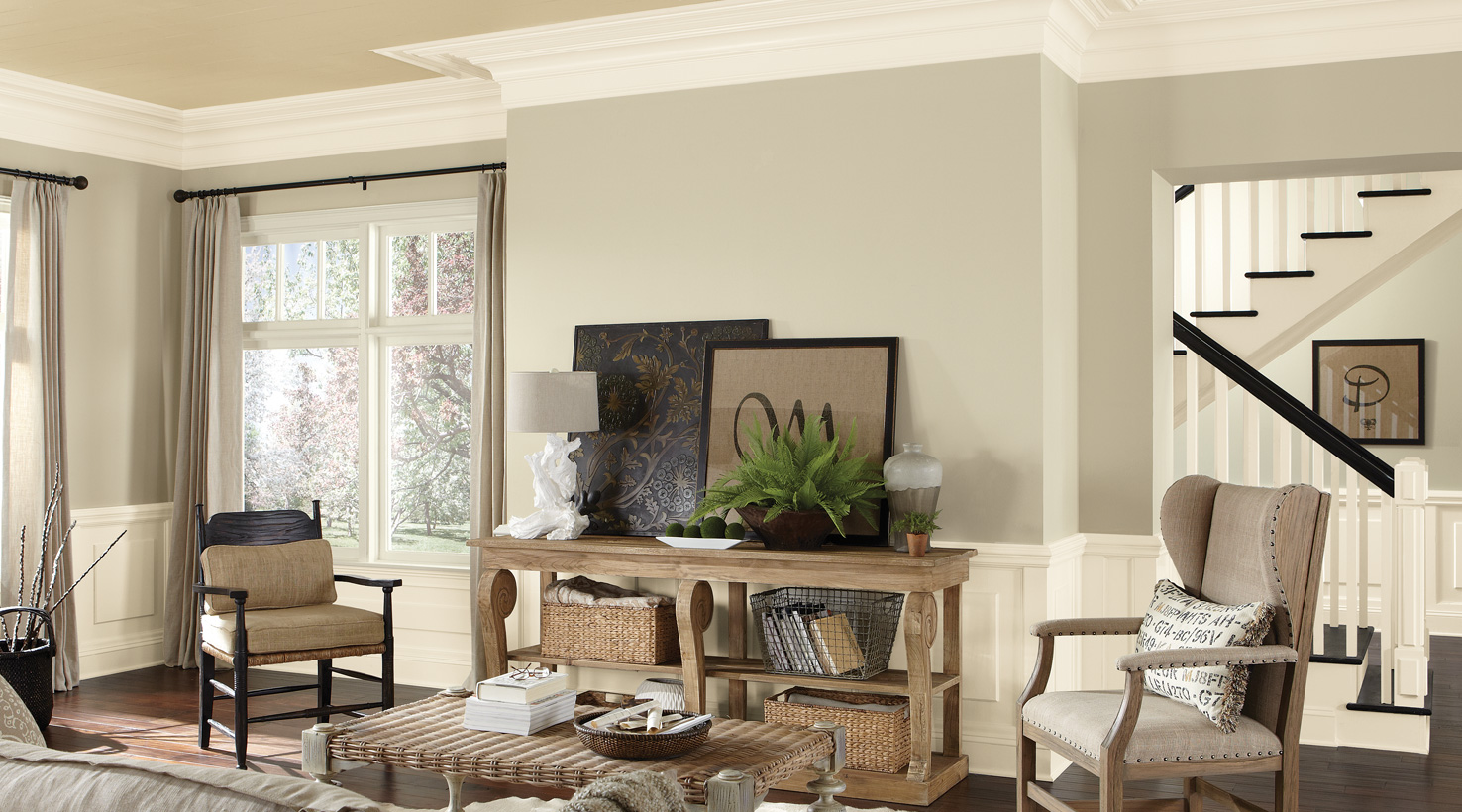Living Room Painting Colors Ideas - Deplok Painting
